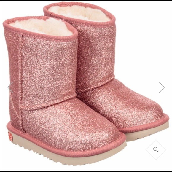 UGG Shoes | Sparkly Pink Girls S | Poshmark